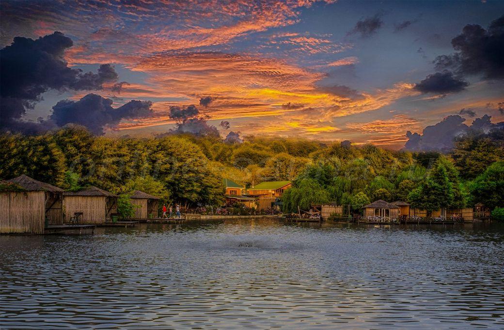 Ачигварское озеро, комплекс отдыха